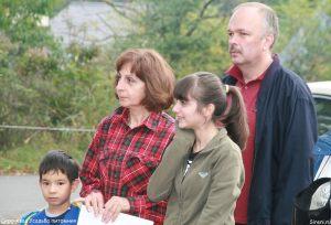 Влаимир Игнатов с семьей