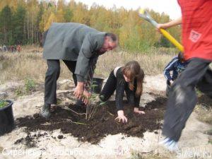 Дети из Кривецкой школы-интерената для детей с отставанием в развитии.